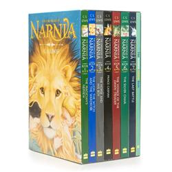 The Chronicles of Narnia Book Box Set + Trivia Book (8冊合售)