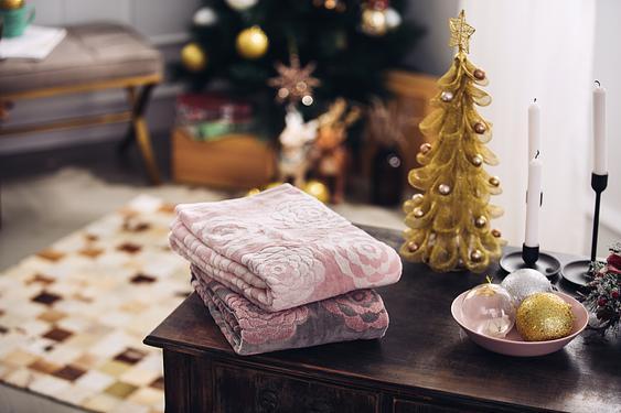 柔軟蓬鬆,超強吸水▶伊織今治毛巾認證摩登花朵浴巾