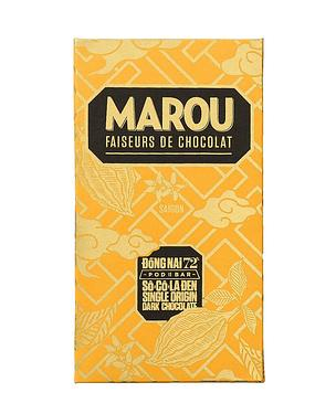 MAROU黃龍同奈72%黑巧克力/ 80g