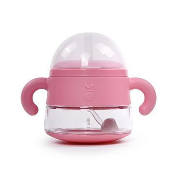 Meroware ALICE嬰幼兒吸管杯/ 玫瑰粉