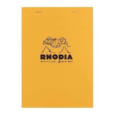法國RHODIA X 北澤平祐 上翻式筆記本/ A5/ 橘/ 方格/ 2021誠品限定版