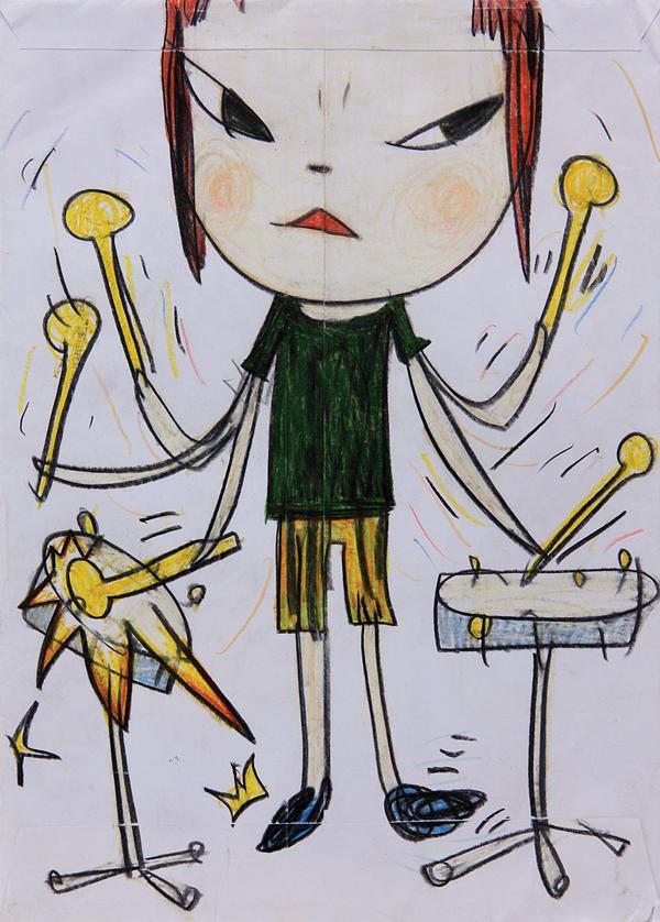 Yoshitomo Nara: Drawings 诚品线上