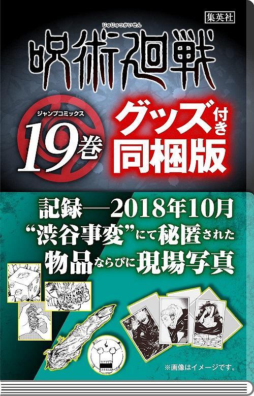 呪术廻戦 19 (记録-2018年10月 渋谷事変にて秘匿された物品ならびに现场写真付き同梱版)
