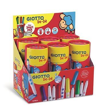 GIOTTO be-be可洗式寶寶彩色筆/ 10色/ 筆筒裝