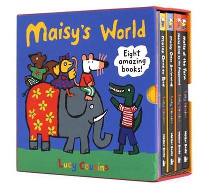 Maisy's World Boxset (8冊合售/附貼紙)