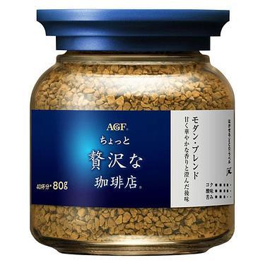 AGF罐裝MAXIM摩卡咖啡/ 白