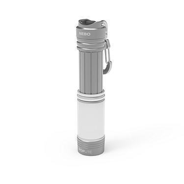 NEBO POPLite多功能伸縮LED手電筒/ 銀