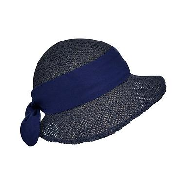 JULIE DUBOIS Paper Hat/ Capucine/ Navy