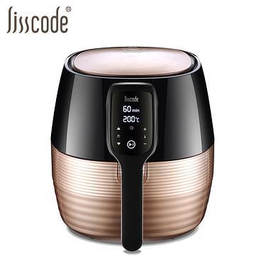 lisscode數位健康氣炸鍋/ 玫瑰金