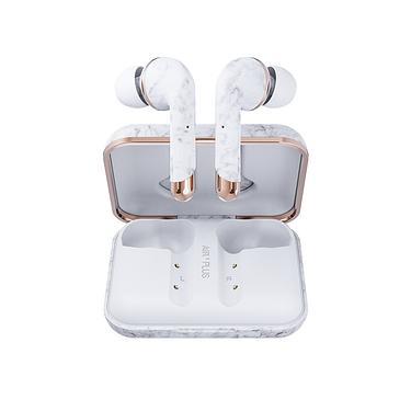 HAPPY PLUGS Air 1 Plus In-Ear真無線藍牙耳機/ White Marble白大理石