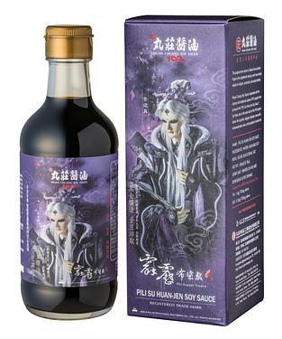 臺灣黑大豆180天古法淬湅➤丸莊霹靂素還真醬油