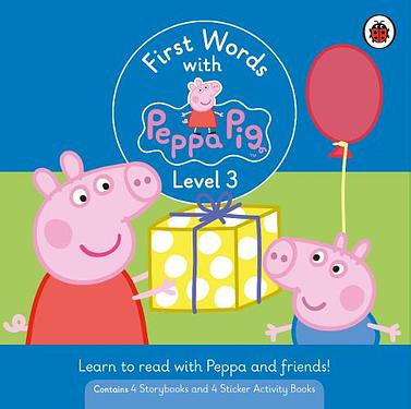 First Words with Peppa Level 3 (8冊合售)