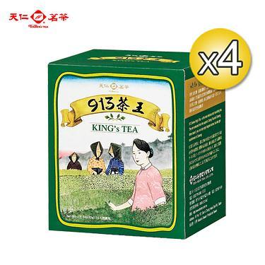 天仁茗茶 913茶王原片茶包(10入)四盒