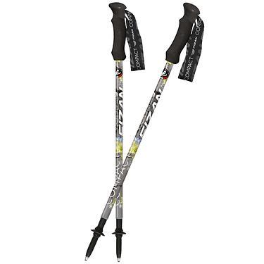 【義大利FIZAN】超輕三節式健行登山杖2入特惠組