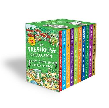 The Treehouse Collection 10-Book Pack (10冊合售)