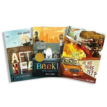 Dan Santat Picture Book Set (3冊合售)