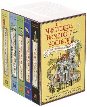 The Mysterious Benedict Society Paperback Boxed Set (5冊合售)