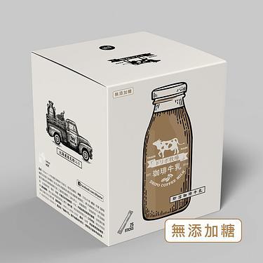 Dripo牧場咖啡牛乳即溶飲品/ 無添加糖