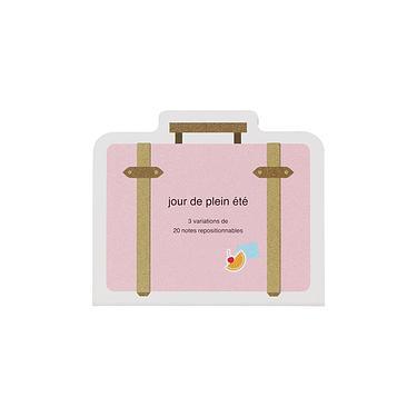 DELFONICS 行李箱造型便利貼