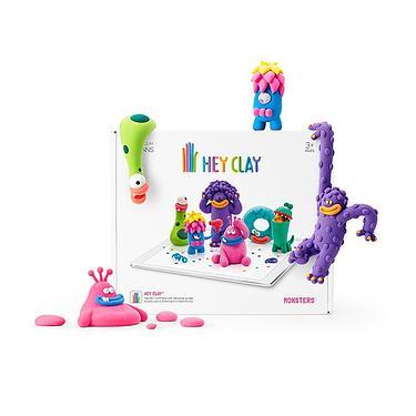 HEY CLAY智塑輕黏土/ 創意怪獸組