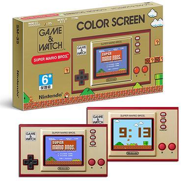 【Nintendo 任天堂】Game&Watch超級瑪利歐兄弟35周年紀念跨界聯名攜帶型遊戲機(日本原裝進口)