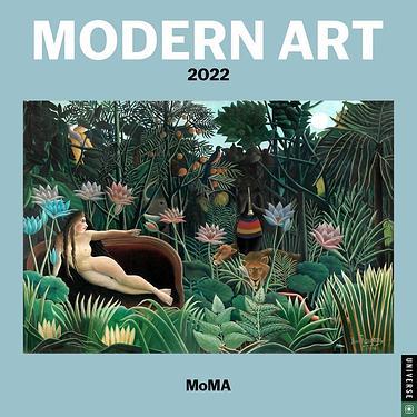 2022 UNIVERSE MOMA 現代藝術畫作掛曆