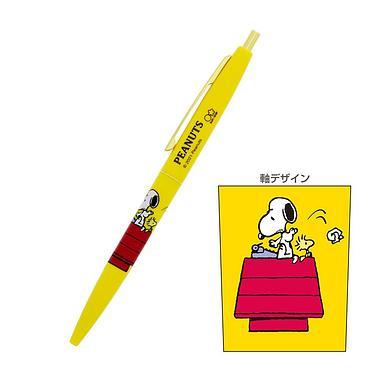 sun-star BIC黑色油性圓珠筆/ 史努比/ 狗屋
