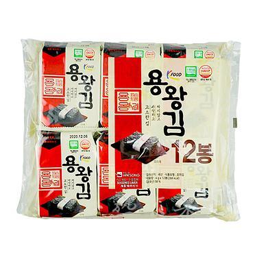 韓國金版龍王海苔12入