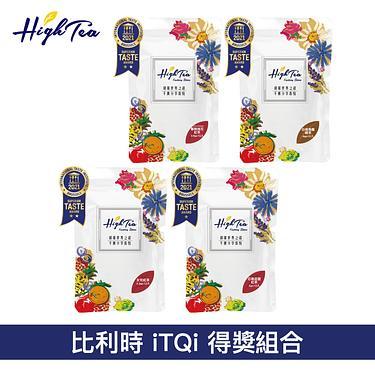 High Tea 白桃烏龍綠茶+女兒紅茶+春映桃花紅茶+芯雅莊園紅茶