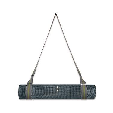 【agoy】學園瑜伽墊 舒適型 6mm 學園瑜伽墊+兩用伸展揹繩 21.06C