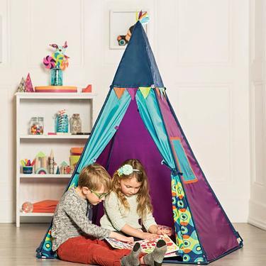 B.Toys 提比數星星 - 遊戲帳篷(波浪) 玩具 帳棚 兒童