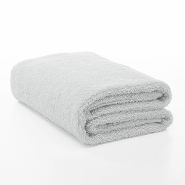 桃雪今治超長棉浴巾/ 冰灰色