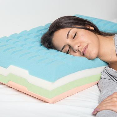 自由組裝式枕芯▶BANALE模組化記憶疊疊枕