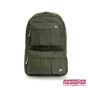AT美國旅行者 RILEY抗菌年輕潮流筆電包(森林綠)