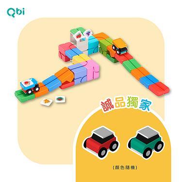 結合積木與軌道小車的益智玩具,台灣熱銷破萬組