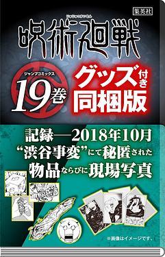 呪術廻戦 19 (記録-2018年10月 渋谷事変にて秘匿された物品ならびに現場写真付き同梱版)