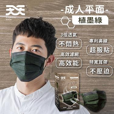 超舒適的口罩➤超寬耳帶 3倍透氣
