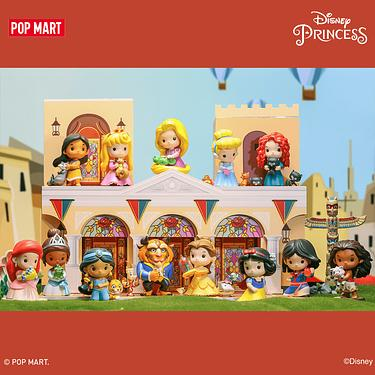 POP MART迪士尼公主與小伙伴系列公仔盒玩
