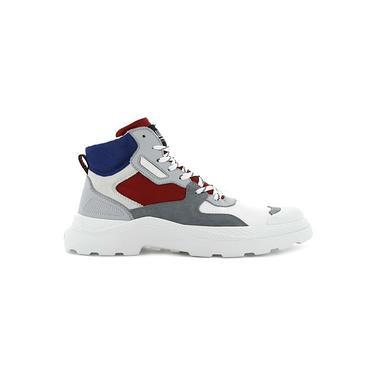 Palladium/PALLAKIX 90 TX 熔合橡膠高筒靴 / 法國配色 (76424-917)-5.5